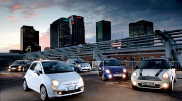 Fiat 500 group test