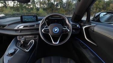 BMW i8 - interior