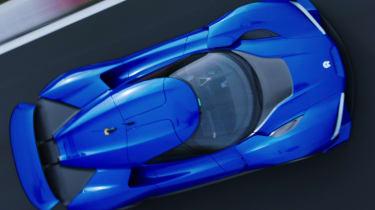 NextEV NIO EP9 electric hypercar - above Nurburgring action