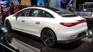Mercedes EQE - Munich rear