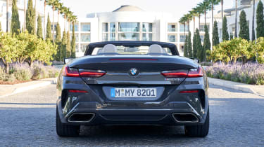 BMW 8 Series Convertible - full rear