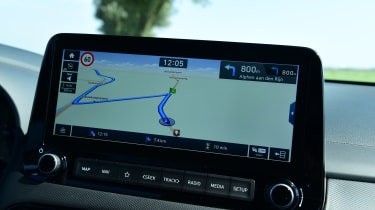 Hyundai Kona Hybrid - screen