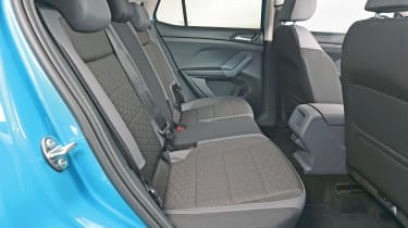 Volkswagen T-Cross - studio rear seats