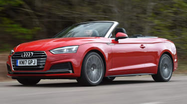 Audi A5 Cabriolet - best used convertibles