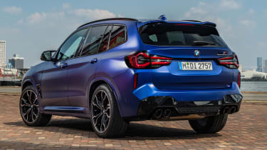 BMW X3 M - rear static