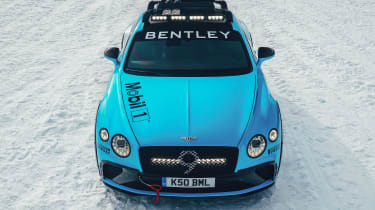 Bentley Continental GT ice racer - front 3/4 static