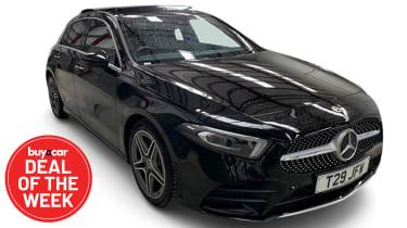 DotW Mercedes A250 - Offside front