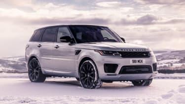 Range Rover Sport HST - front static