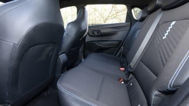 Hyundai i20 N - rear seats