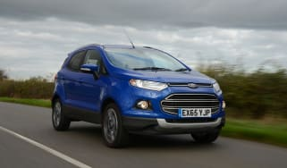 Ford EcoSport 2015 front tracking