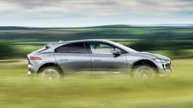 Jaguar I-Pace - side