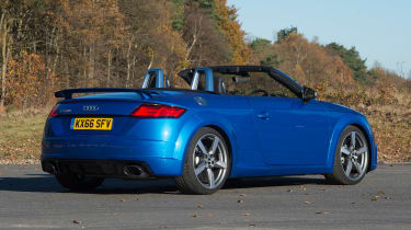 Audi TT RS Roadster - rear static