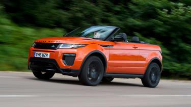Range Rover Evoque Convertible - front
