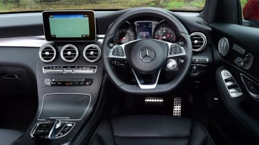Used Mercedes GLC - dash