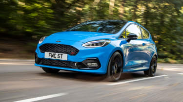 Ford Fiesta ST - front n/s tracking