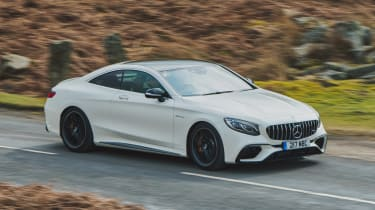 Mercedes-AMG S 63 Coupe - front action