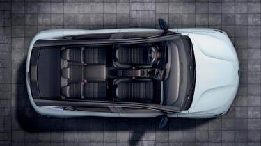 Renault Megane E-Tech Electric SUV - above