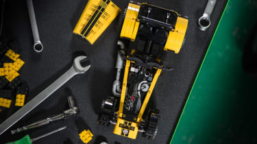 LEGO Caterham 620R - overhead 2