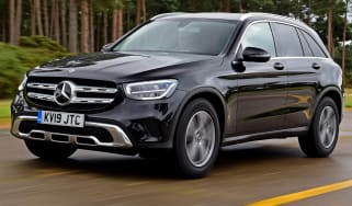 Mercedes GLC 220 d  - front tracking