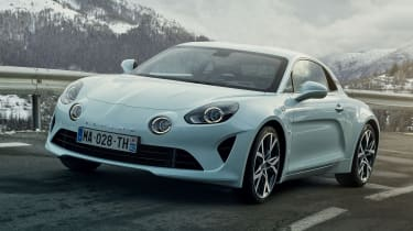 Alpine A110 - Pure front