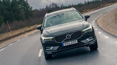 Volvo XC60 ride review - full front tracking