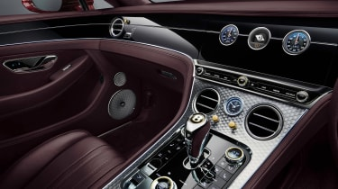Bentley Continental GT Convertible Number 1 Edition cabin