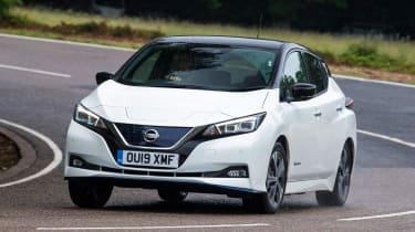 Nissan Leaf e+ - front cornering