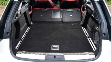Peugeot 508 SW - boot seats down