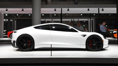Tesla Roadster - profile