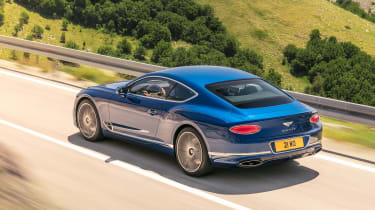 Bentley Continental GT - rear action