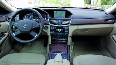 Mercedes E350 interior