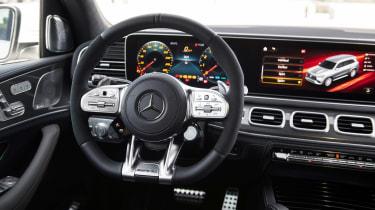 Mercedes-AMG GLS 63 - dash