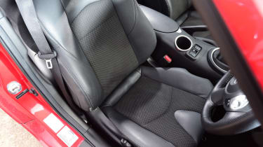 Nissan 370Z GT –driver's seat