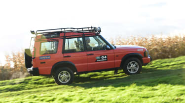 Land Rover Discovery Mk2 - side