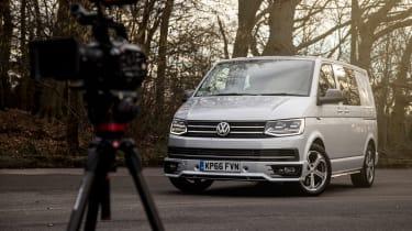Long-term test review: Volkswagen Transporter Sportline - front camera