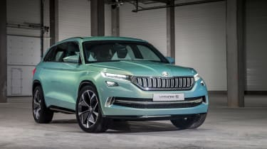 Skoda VisionS concept - front static