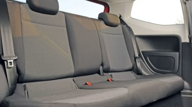 Volkswagen Move up! rear seats