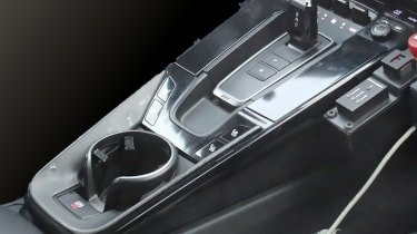 Porsche 911 spy centre console