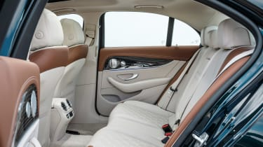 Mercedes E-Class - rear seats
