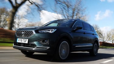 SEAT Tarraco - front action