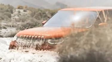 Land Rover Discover leaked pic wading