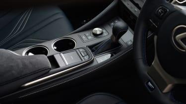 Lexus RC F console