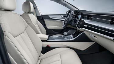 Audi A7 Sportback - front seats