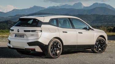 BMW iX - rear static