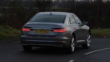Audi A6 - rear cornering