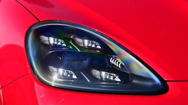 Porsche Cayenne Coupe GTS - headlight