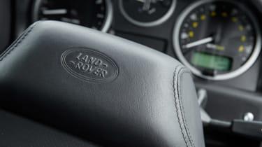 Land Rover Defender Works V8 - steering wheel