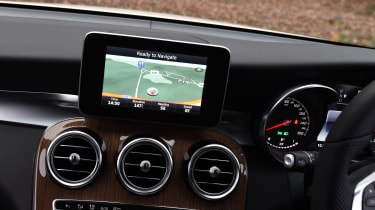Mercedes GLC Coupe - infotainment