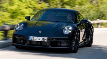 Porsche 911 Turbo prototype - front