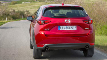 Mazda CX-5 2017 - manual Tuscany rear tracking 2